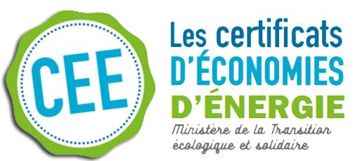 Logo CEE (certificats d'économies d'énergie)
